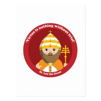 St. Leo the Great Postcard