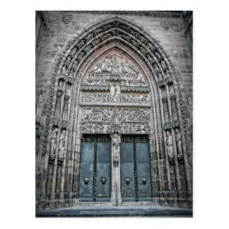 St. Lorenz Cathedral - Nuremberg, Germany Postcard