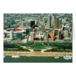 St. Louis Arch and Skyline Greeting Card