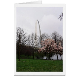 St. Louis Arch Card