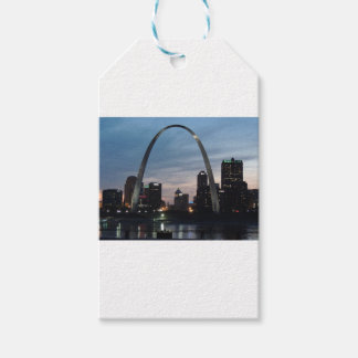 St Louis Arch Skyline Gift Tags