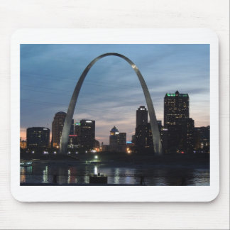 St Louis Arch Skyline Mouse Pad