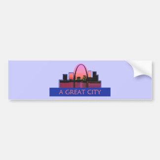 St. Louis Bumper Sticker