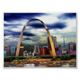 St. Louis by Storm Poster