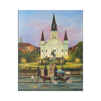 "St. Louis Cathederal 16"" x 20"" Canvas Print"
