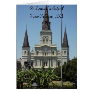 St Louis Cathedral Card