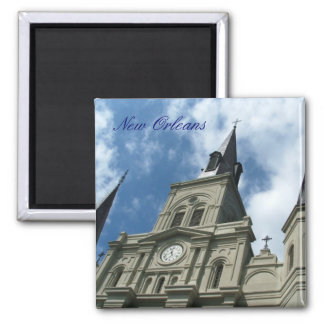 St Louis Cathedral Church in New Orleans Magnet