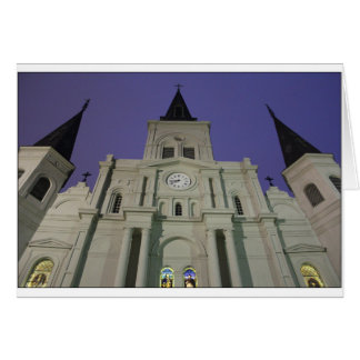 St. Louis Cathedral, Jackson Square, New Orleans Card