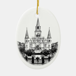 St. Louis Cathedral New Orleans Ornament