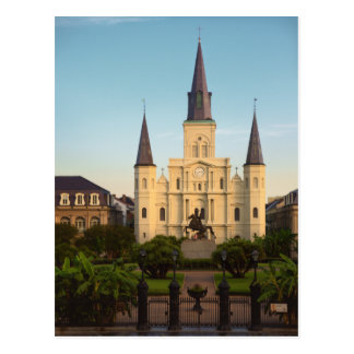 St. Louis Cathedral New Orleans Postcard