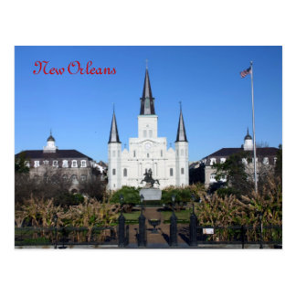 St Louis Cathedral, New Orleans Postcard
