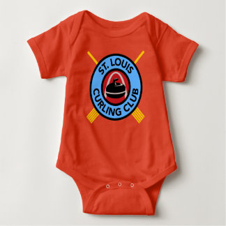 St Louis Curling Club baby outfit Baby Bodysuit