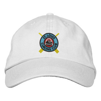 St Louis Curling Club Hat Embroidered Hat
