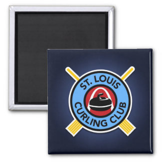St Louis Curling Club Magnet