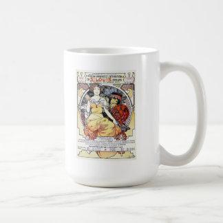 """St. Louis Exposition Art by Mucha"" Mug"