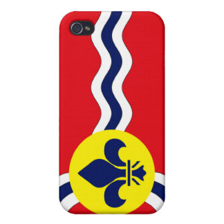 St. Louis Flag Cover For iPhone 4