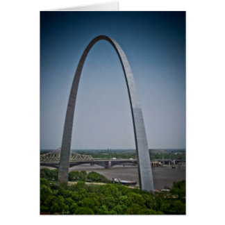 St. Louis Gateway Arch Card