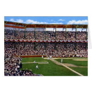 St. Louis Missouri Baseball at Sportsman's Park Greeting Cards