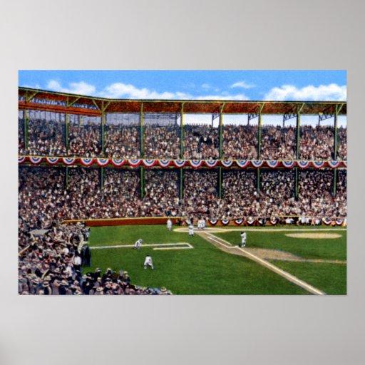 St. Louis Missouri Baseball at Sportsman's Park Print