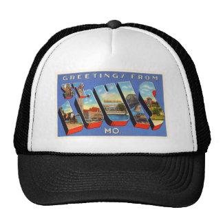 St Louis Missouri MO Old Vintage Travel Souvenir Trucker Hat