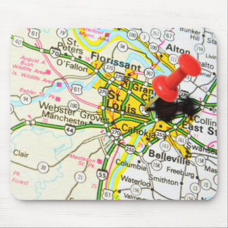 St. Louis, Missouri Mouse Pad