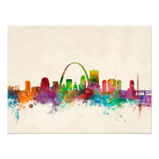 St Louis Missouri Skyline Art Photo
