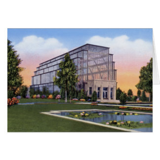 St. Louis Missouri The Jewel Box Forest Park Card