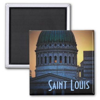 St. Louis Old Courthouse Magnet