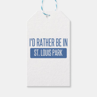 St. Louis Park Pack Of Gift Tags