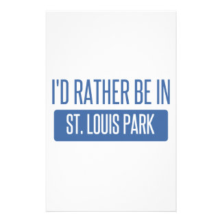 St. Louis Park Personalized Stationery