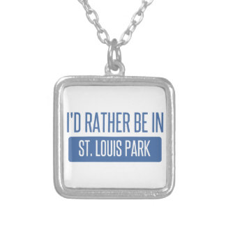 St. Louis Park Silver Plated Necklace