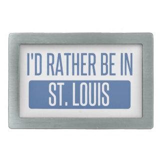 St. Louis Rectangular Belt Buckle