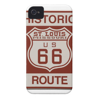 St Louis Route 66 iPhone 4 Case