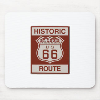 St Louis Route 66 Mouse Pad