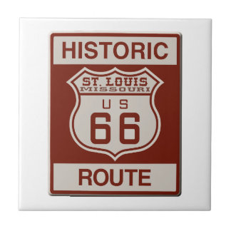 St Louis Route 66 Tile