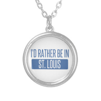 St. Louis Silver Plated Necklace