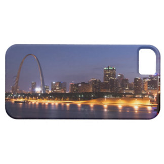 St Louis Skyline at Night (Color) Case For The iPhone 5