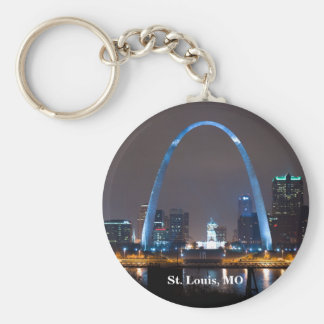 St. Louis Skyline Key Chain