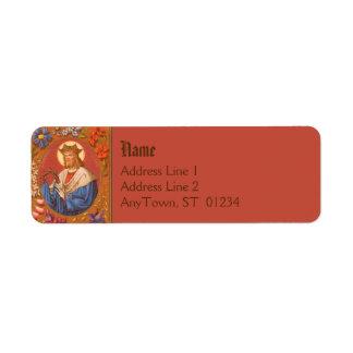 St. Louis the King (PM05) FB Return Add Label #2a Return Address Label