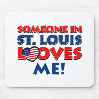 ST. LOUIS USA designs Mouse Pad