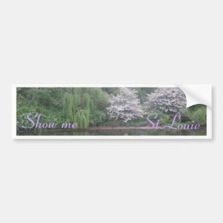 St. louis zoo bumper sticker