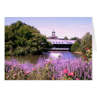 St. Louis Zoo lake Card