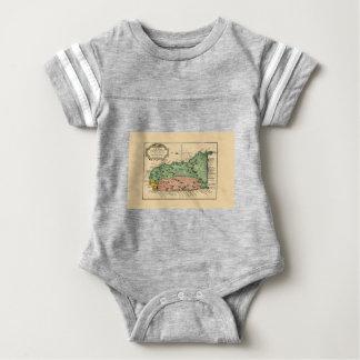 St Lucia 1758 Baby Bodysuit