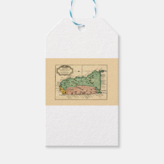 St Lucia 1758 Gift Tags