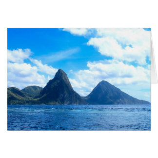 St. Lucia all occasion card