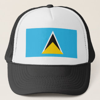 St. Lucia Flag Hat