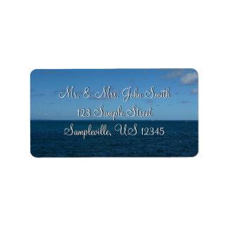 St. Lucia Horizon Blue Ocean