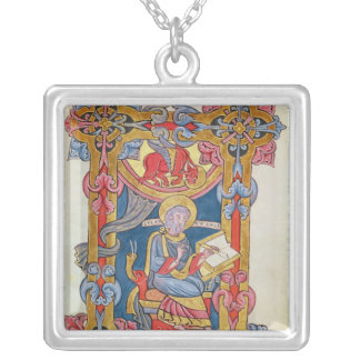 St. Luke Silver Plated Necklace