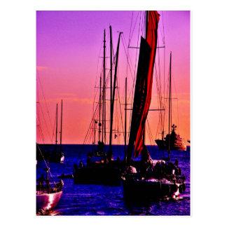 St. Maarten Regatta Day Postcard