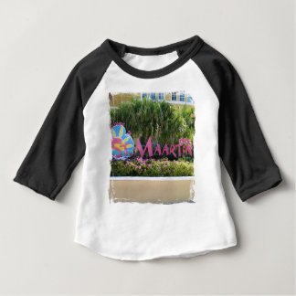 St. Maarten Sign Baby T-Shirt